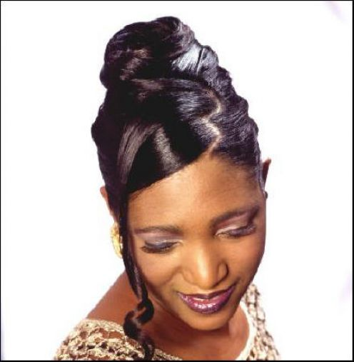 Enjoyable Black Wedding Hairstyles Updos Short Hairstyles For Black Women Fulllsitofus
