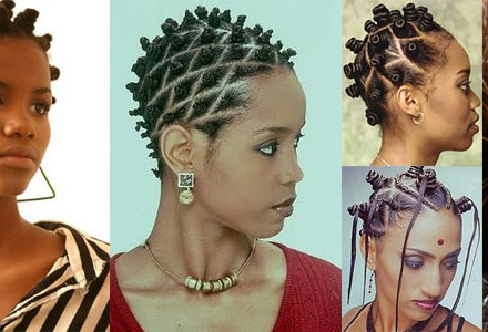 NEW SERIES Wedding Hair Inspiration Bantu Knots