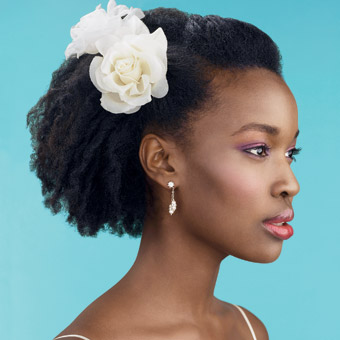 How To Wear An Afro On Your Wedding Day Bride Of Colour