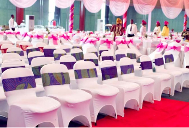 Traditional Material Nigerian Chair Covers