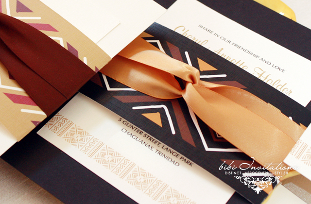 we love bibi invitations bride of colour wedding blog With african wedding invitations samples